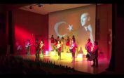 Bando Takımı Gösterisi 29 Ekim Kutlaması