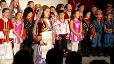 Koro ve Kafkas Halk Oyunları Gösterisi