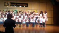 Anaokulu Yıl sonu Koro Gösterisi