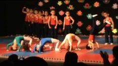 Sevgi Anaokulu Jimnastik Gösterisi