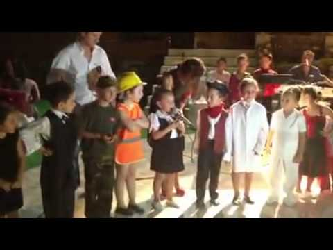Kukla Anaokulu İngilizce Gösterisi
