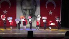 Maltepe Era Koleji 23 Nisan İngilizce gösterisi