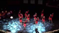 Cumhuriyet Koleji Modern Dans Gösterisi