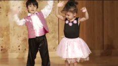 Gökkuşağı Sınıfı Modern Dans Gösterisi
