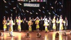 Mavi Martı Anaokulu Karadeniz Halk Oyunları Gösterisi