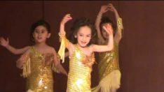 Sultan Fatih Anaokulu Modern Dans Gösterisi