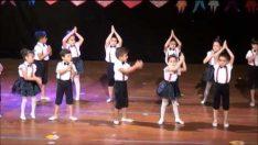 Güneşler Sınıfı Modern Dans Gösterisi