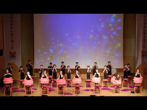 İnci Taneleri Sınıfı Dans Gösterisi