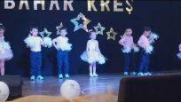 Okul Öncesi Modern Dans Gösterisi