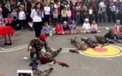Anasınıfı Çanakkale Gösterisi