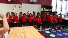 Kindergarten End of Year Music Show