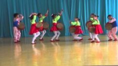 North Korea: Kindergarten Kids Dancing in Chongjin