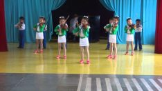 North Korea: Kindergarten Kids Playing Violin in Chongjin