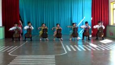 North Korean Kindergarten Kids Performance in Chongjin