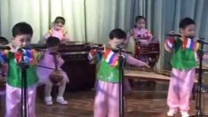 North Korean Kindergarten Performance in Sinuiju