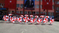 Şemsiye Dansı 23 Nisan Gösterisi