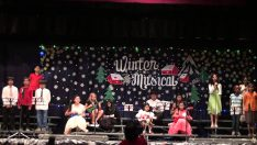 YIS – Winter Musical 2013 –  Somewhere Over The Rainbow
